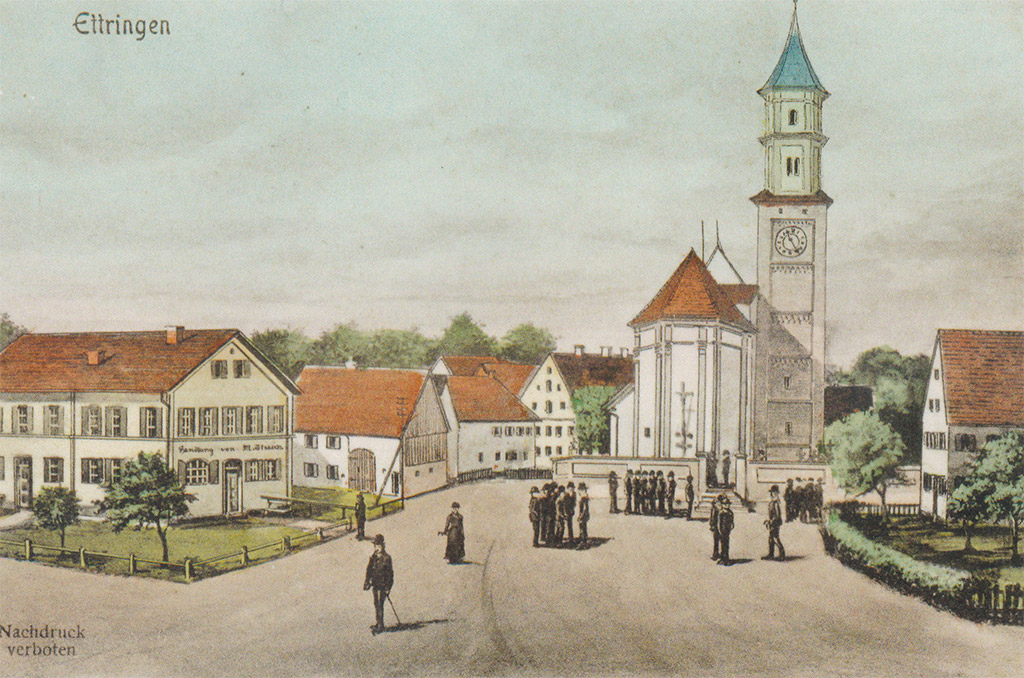 Postkarte Ettringen
