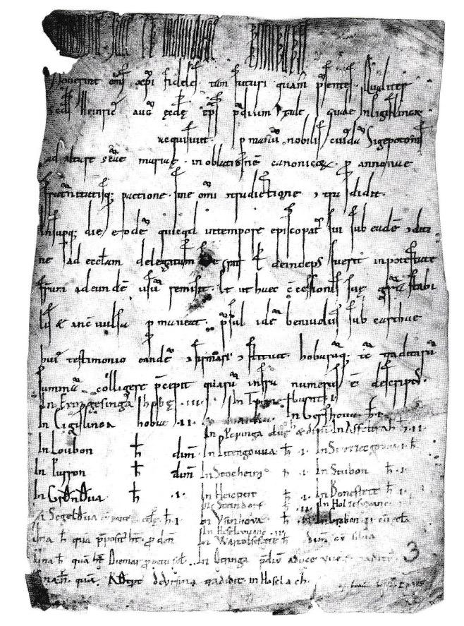 Urkunde Ettringen